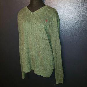 Polo by Ralph Lauren 100% tussah silk sweater